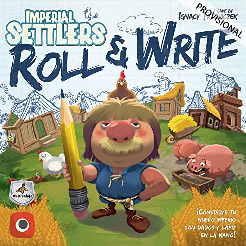 COLONOS del Imperio: Roll & Write