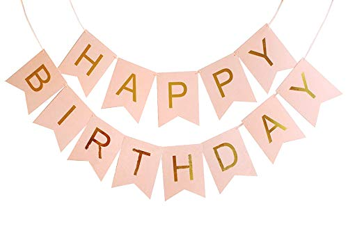 CoolChange Cadena de cumpleaños Guirnalda Decorativa, Happy Birthday