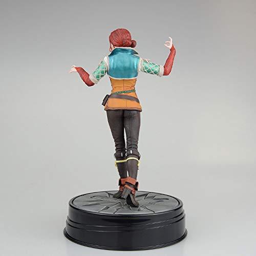 CQ The Witcher 3: Caza Salvaje Figura de acción de Triss Figura Figura de acción de The Witcher Juego Collectibles 19CM Toys