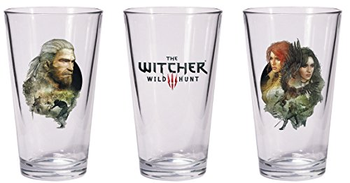 Dark Horse Comics- The Whitcher Witcher Juego de 2 vasos, Multicolor (NOV160114)