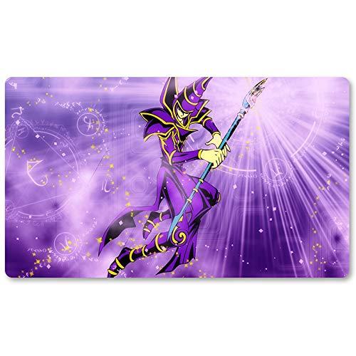 Dark Magician – Juego de mesa Yugioh Playmat Games Tamaño 60 x 35 cm Mousepad MTG Play Mat para Yu-Gi-Oh! Pokemon Magic The Gathering
