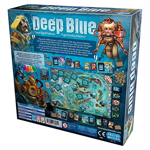 Days of Wonder Deep Blue - English