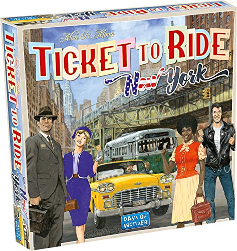 Days of Wonder DOW720060 Ticket to Ride New York, Multicolor