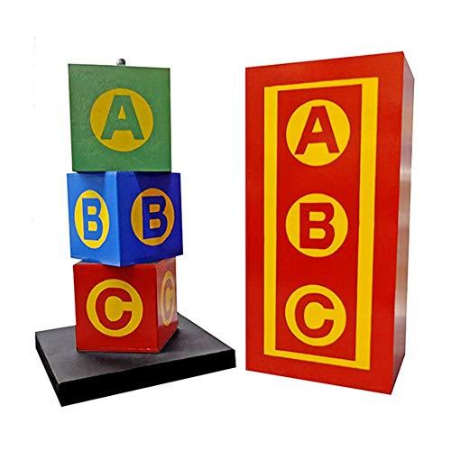 Daytona Mágico ABC bloques de madera, trucos de magia