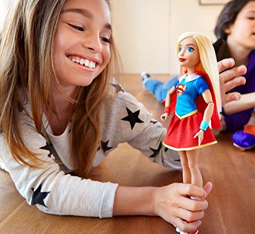 DC Super Hero Girls Muñeca de acción Supergirl (Mattel DLT63)