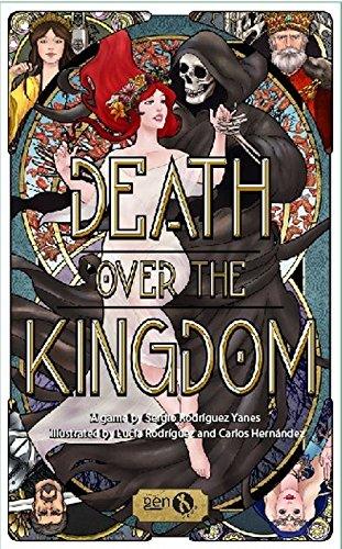 Death Over The Kingdom- Juego de mesa (Gen X Games GENDEA01) , color/modelo surtido