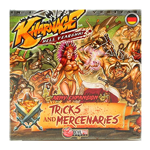 Devil Pig Games Kharnage - Tricks & Mercenaries - Deutsch