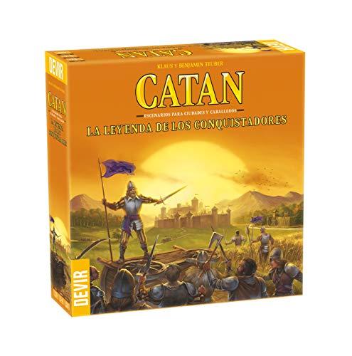 Devir-Catan La Leyenda de Los Conquistadores (BGCATLEY)