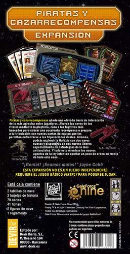 Devir Firefly, Piratas y cazarrecompensas, Miscelanea (BGFLY3)