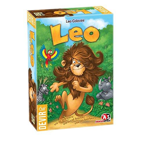 Devir - Leo va al barbero, juego de tablero (BGLEO)