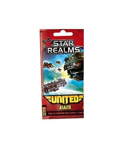 Devir Star Realms United: Asalto - Expansión Juego de Mesa [Castellano]
