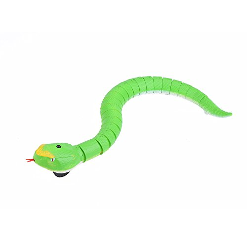 Dilwe Juguete Teledirigido Remoto Control de Serpiente RC Modelo de Animal Juguete de Broma