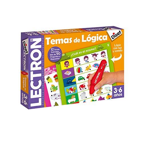 Diset 63882 - Lectron Lapiz Temas De Logica , color/modelo surtido