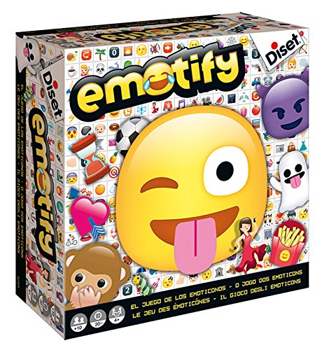 Diset- Emotify, Juego de Mesa (62301)