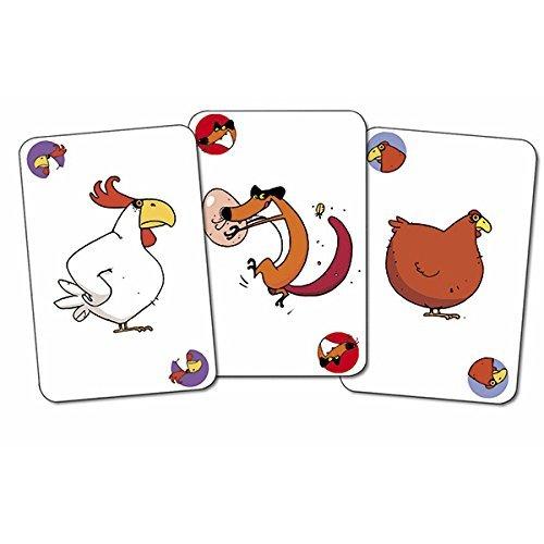 Djeco Piou Juego de cartas, multicolor (DJ05119)