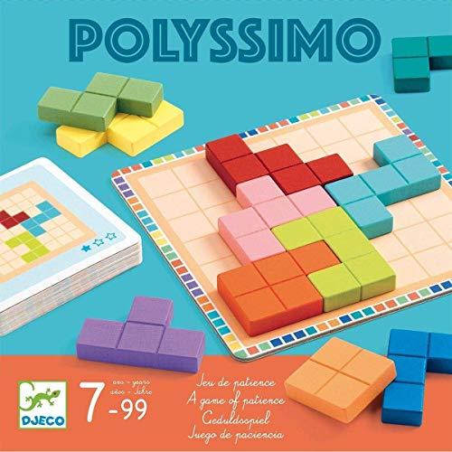 DJECO Polyssimo - Juego de lógica, Multicolor