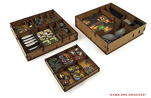 docsmagic.de Organizer Insert for Mansions of Madness: Second Edition Box - Encarte