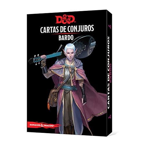 Dungeons & Dragons Bardo-Cartas de Conjuros-Castellano, Color (Edge Entrertainment EEWCDD81)