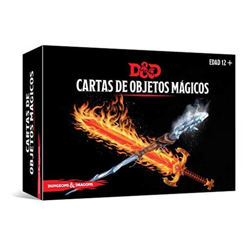 Dungeons & Dragons Cartas de Objetos mágicos, Color (EEWCDD89)
