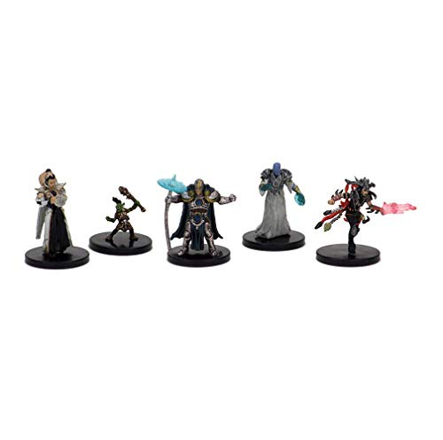 Dungeons & Dragons Fantasy Miniatures: Icons of The Realms Set 10 Guildmaster`s Guide to Ravnica Companion Starter Two