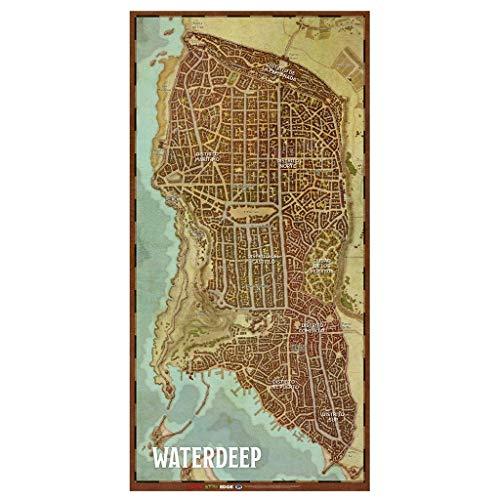 Dungeons & Dragons Mapa de la Ciudad de Waterdeep (EEWCDD08B)