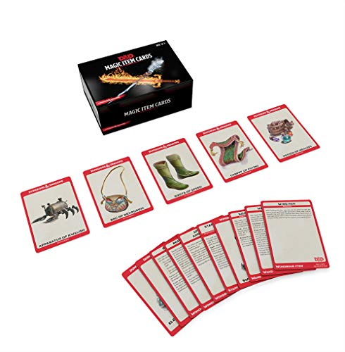 Dungeons & Dragons Spellbook Cards: Magic Items (D&d Accessory)
