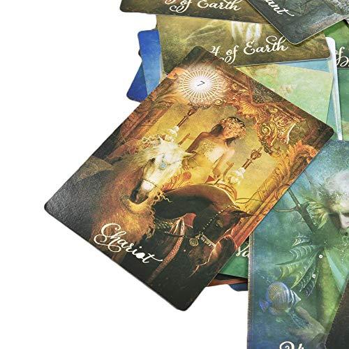 Earthily Tarot Card 78 cartas en total Explorando lo desconocido modern
