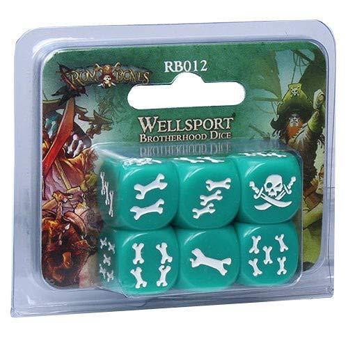Edge 599386031 - Rum & Bones: Set de Dados Hermandad de wellsport