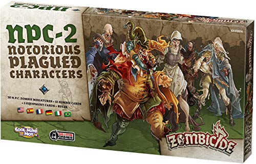 Edge 599386031 - Zombicide Black Plague. Notorious plagued Characters 2