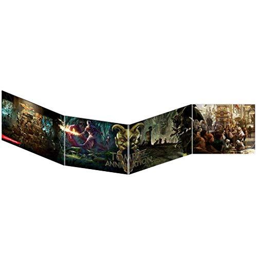 Edge Entertaiment España- D&D - Pantalla del DM La Tumba de la aniquilación - Juego de rol, Color (Dungeons & Dragons EEWCDD05A)