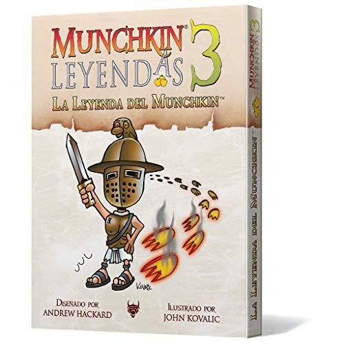 Edge Entertainment 3: La Leyenda del Munchkin-Español, Color (EESJML03)