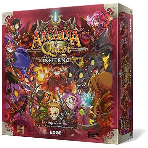 Edge Entertainment- Arcadia Quest: Infierno - Español (Edge Entertaiment EECMAQ18)