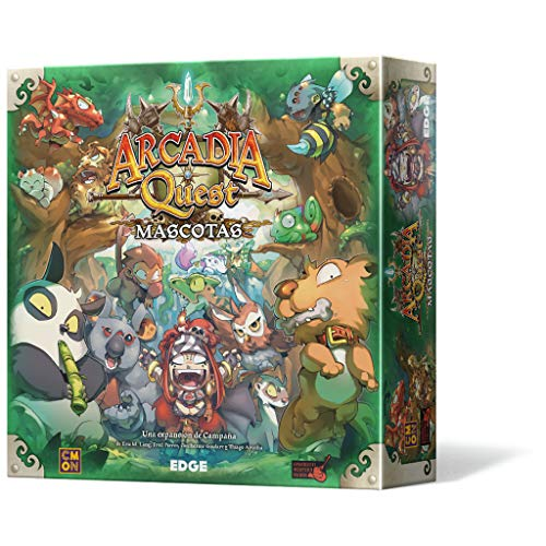 Edge Entertainment-Arcadia Quest Mascotas-Español, Color (Edge Entertaiment EECMAQ19)