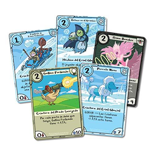 Edge Entertainment Card Wars - Juego de cartas Rey Hielo vs Marceline