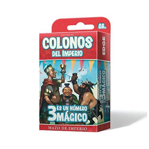 Edge Entertainment- Colonos del Imperio: 3 es un Numero mágico - Español, Color (EEPGIS05)