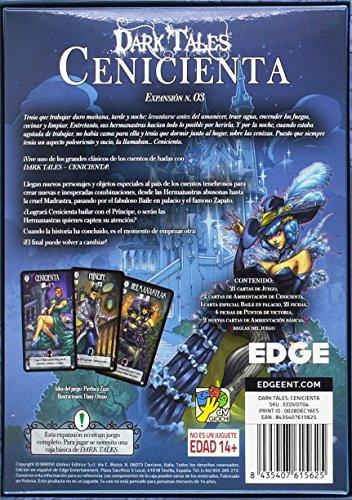 Edge Entertainment- Dark Tales Cenicienta - español, Color (EEDVDT04)