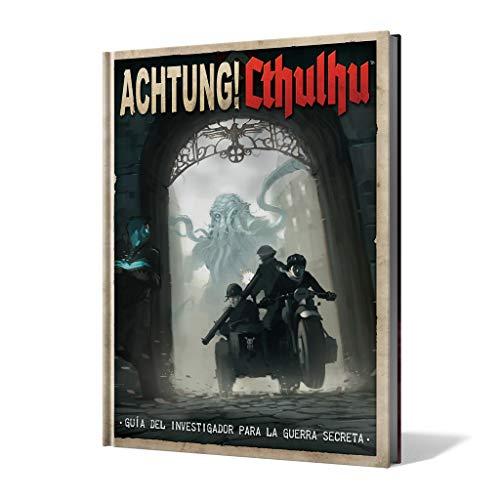 Edge Entertainment-Guía del Investigador para la Guerra Secreta-Achtung Cthulhu-Español, color (EEMOAC02) , color/modelo surtido