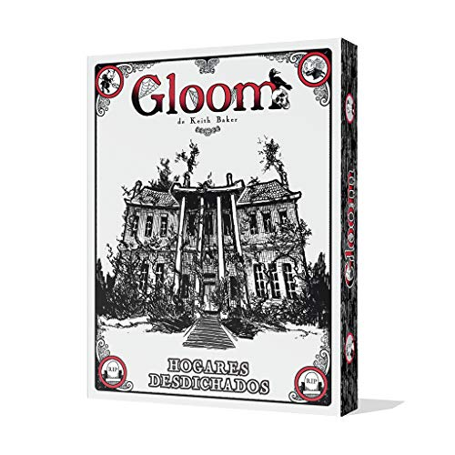 Edge Entertainment - Juego de cartas Gloom: Hogares Desdichados, Español (EEAGGL02)