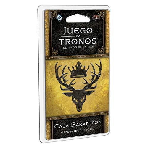 Edge Entertainment- Juego de Tronos LCG: Mazo introductorio de la Casa Baratheon - Español, Multicolor (GT40ES)