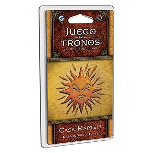 Edge Entertainment- Juego de Tronos LCG: Mazo introductorio de la Casa Martell - Español, Multicolor (GT42ES)