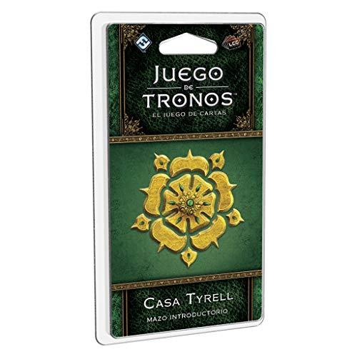 Edge Entertainment- Juego de Tronos LCG: Mazo introductorio de la Casa Tyrell - Español, Multicolor (GT41ES)