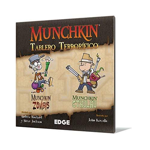 Edge Entertainment Munchkin-tablero terrorífico-español. (EDGMUGB2) , color/modelo surtido