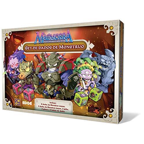 Edge Entertainment- Set de Dados de Monstruo (EDGMMR003)