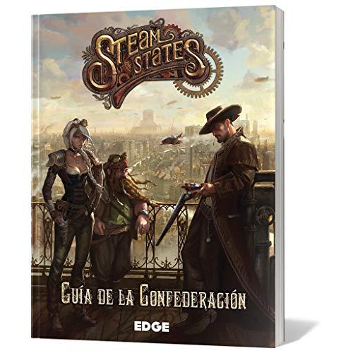 Edge Entertainment- Steam States: guía de la confederación - español, Color (EDGZH03)