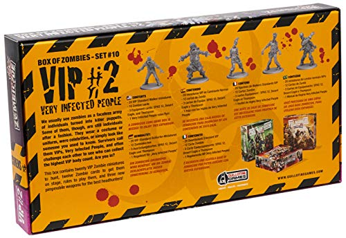 Edge Entertainment - VIP: Very Infected People 2, expansión para Zombicide (ZG69)
