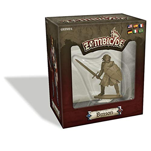 Edge Entertainment- Zombicide BP Special Guest Box Benson, Color (EECMZB30)