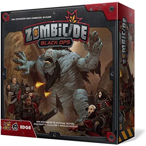 Edge Entertainment- Zombicide Invader - Black Ops - Español, Color (EECMZI02)