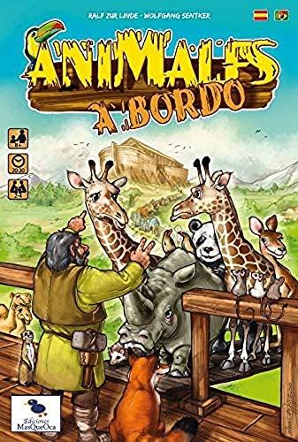 Ediciones MasQueoca - Animales a Bordo (Español)(Portugués)