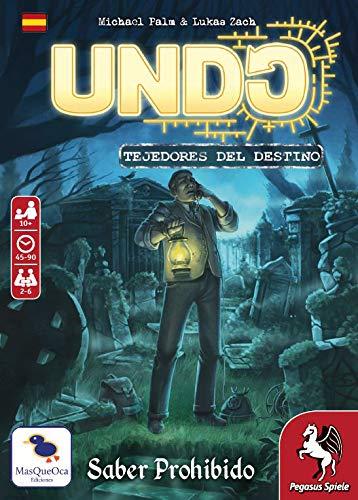 Ediciones MasQueoca - UNDO 5: Saber Prohibido (Español)