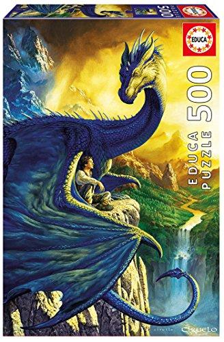 Educa Borrás - Eragon and Saphira, Puzzle de 500 Piezas (17311)